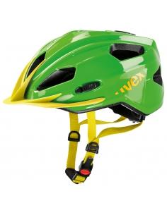 Kask Uvex Quatro Junior green yellow