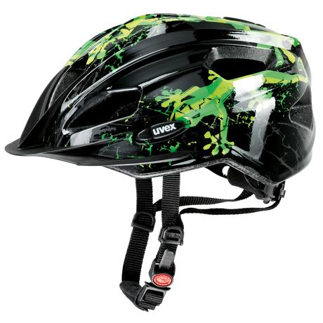 Kask Uvex Quatro Junior Gecko Green regulacja 50-55 cm