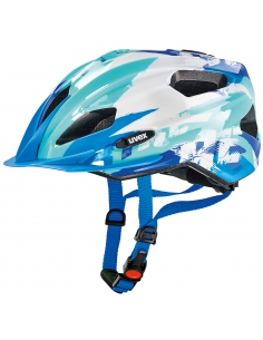 Kask Uvex Quatro Junior blue white