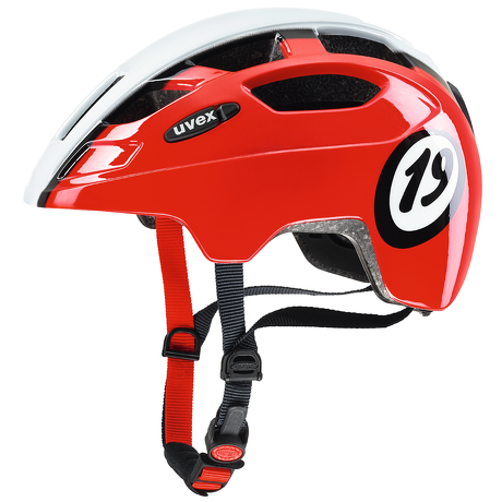 Kask Uvex Finale Junior 1926 red white
