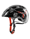 Kask Uvex Finale Junior dragon red black