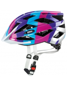 Kask Uvex Air Wing blue pink