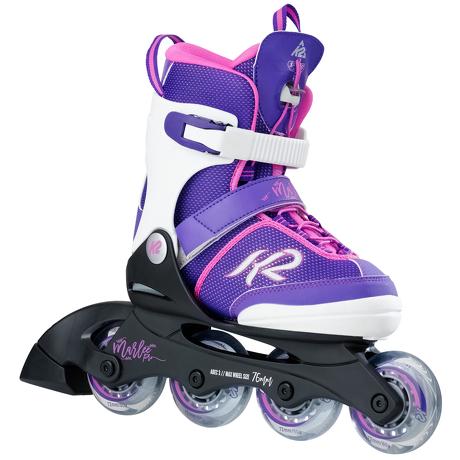 Rolki dziecięce K2 Marlee Pro Girls White/Purple