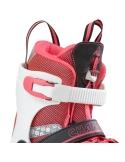 Rolki dziecięce K2 Charm X Pro Girls White/Red/Black