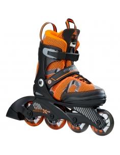 Rolki dziecięce K2 SK8 Hero X Pro Boys Black/Orange/Grey