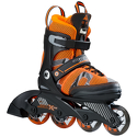 Rolki dziecięce K2 SK8 Hero X Pro Boys Black/Orange/Grey