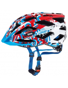 Kask Uvex Air Wing white red v2