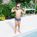 Okulary przeciwsłoneczne dla dzieci Babiators Original Navigator Blue Crush
