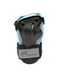 Ochraniacze damskie na nadgarstki K2 Performance Women Silver/Black/Blue