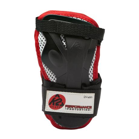 Ochraniacze męskie na nadgarstki K2 Performance Men Silver/Black/Red