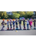 Rolki dziecięce K2 Charm X Pro Girls Blue/Lime