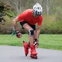 Zestaw męskich ochraniaczy na kolana, łokcie, nadgarstki K2 Performance Men Silver/Black/Red