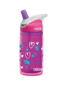 Termiczny bidon Camelbak Eddy Kids Insulated 0,4l Pink Hearts