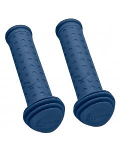 Nakładki na rączki kierownicy Wishbone niebieskie