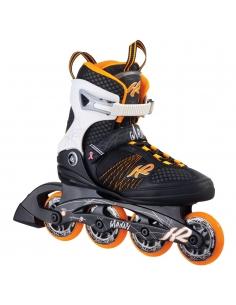 Rolki damskie K2 Alexis 80 Black/Orange