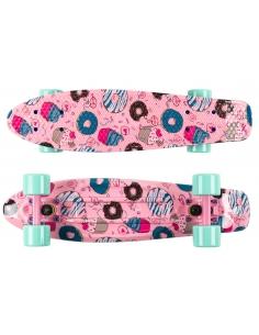 Deskorolka Fish Skateboards Print Cookies/Sum-Pink/Sum-Green