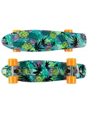 Deskorolka Fish Skateboards Print Pineapple/Silver/Orange