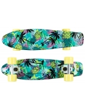 Deskorolka Fish Skateboards Print Pineapple/White/Sum-Yellow