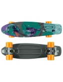 Deskorolka Fish Skateboards Print Fish/Silver/Orange