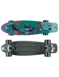 Deskorolka Fish Skateboards Print Fish/Silver/Grey