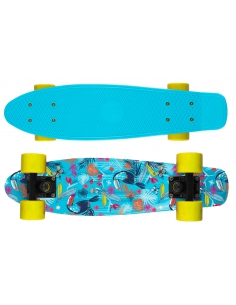 Deskorolka Print Fish Skateboards Tucans/Black/Yellow