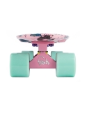 Deskorolka Fish Skateboards Print Cookies/Sum-Pink/Sum-Green