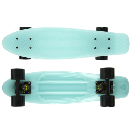 Deskorolka Fish Skateboards Glow Blue/Black/Black