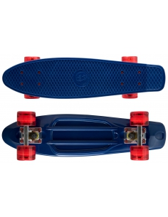 Deskorolka Fish Skateboards Navy/Silver/Transparent Red