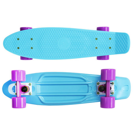 Deskorolka Fish Skateboards Summer Blue/Purple-White/Purple