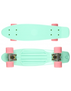 Deskorolka Fish Skateboards Summer Green/Silver/Pink