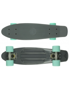 Deskorolka Fish Skateboards Grey/Grey/Summer Green
