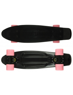 Deskorolka Fish Skateboards Black/Black/Pink