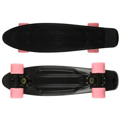 Deskorolka Fish Skateboards Black/Black/Pink