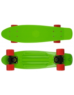 Deskorolka Fish Skateboards Green/Black/Red