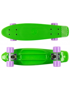 Deskorolka Fish Skateboards Green/Silver/Sum-Purple