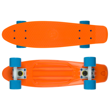 Deskorolka Fish Skateboards Orange/White/Blue