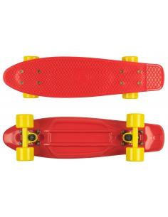 Deskorolka Fish Skateboards Red/Red-Yellow/Yellow