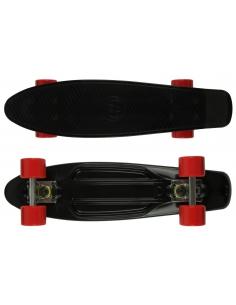 Deskorolka Fish Skateboards Black/Silver/Red