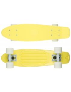 Deskorolka Fish Skateboards Summer Yellow/White/White