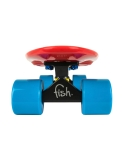 Deskorolka Fish Skateboards Red/Black/Blue