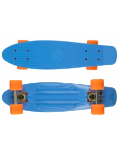 Deskorolka Fish Skateboards Blue/Silver/Orange