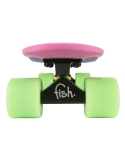 Deskorolka Fish Skateboards 3 Color Pink_Blue_Green/Black/Green