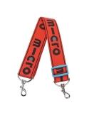 Czerwony pasek Micro do przenoszenia hulajnóg dwukołowych