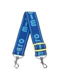 Niebieski pasek Micro do przenoszenia hulajnóg dwukołowych
