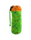 Pokrowiec Micro na butelkę lub bidon multikolor zielony