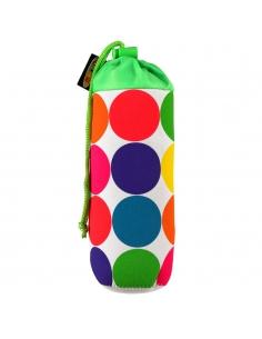 Pokrowiec Micro na butelkę lub bidon neonowe kropy neon dots
