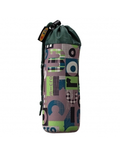 Pokrowiec Micro na butelkę lub bidon word zielony khaki