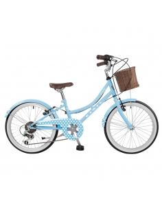 "Rower Dawes L'il Duchess 20"" Baby Blue Hearts"