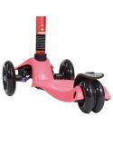 Hulajnoga Maxi Micro metalic różowa anodowana kierownica