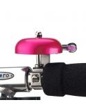Dzwonek Micro metalowy różowy